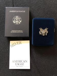 1997 American Eagle Silver proof