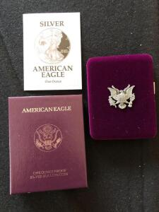 1998 Silver American Eagle proof