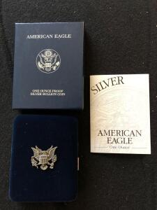 2002 American Eagle Silver Proof