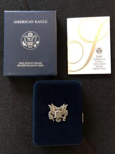2005 American Eagle Silver Proof