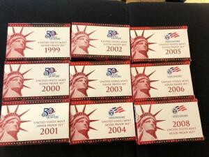 United States Mint Silver Proof Sets