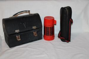 Thermos in case, thermos lunchbox-no thermos