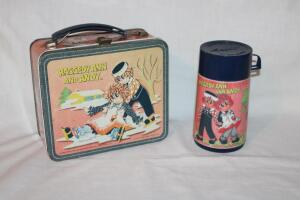 Raggedy Ann and Andy metal lunchbox