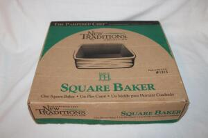 Pampered Chef square baker