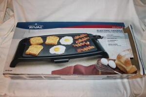 Rival family size electric griddle
