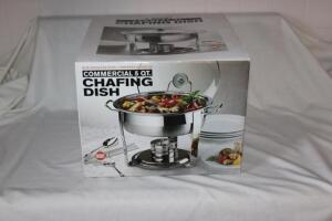 Stainless commercial 5 qt. chafing dish