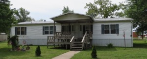 Well Cared For Manufactured Home On 2 1/2 Lots Just One Block From Downtown Sturgeon, MO At 212 W. Smith St.