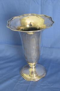 Shreve & Co. sterling silver vase