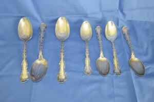 Spalding & Co. sterling silver spoons