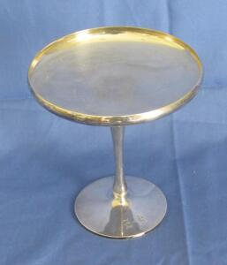 Shreve & Co. sterling silver pedestal candy dish