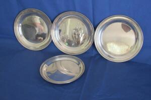 Shreve & Co. sterling silver plates