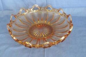 Open lace centerpiece bowl