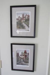 """The Medina, Casablanca"" framed and matted print"