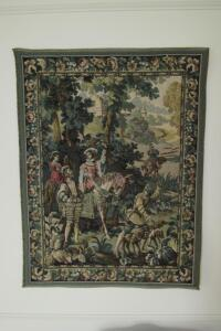 Hawking with Emperor Maximillian tapestry