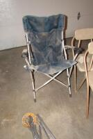 "Folding lawn chair, patio chairs, wind chime 31"" L - 3"