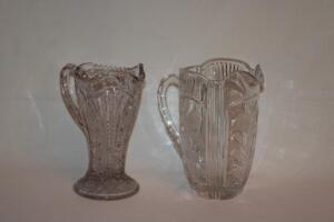 Glass and Crystal pitchers