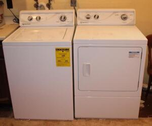Speed Queen commercial heavy duty washer and electric dryer