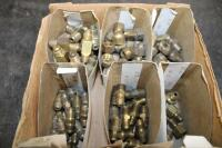 "5/16"" brass flare fittings - 3"