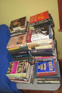 Large assortment of books