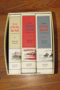 The Civil War A Narrative by Shelby Foote