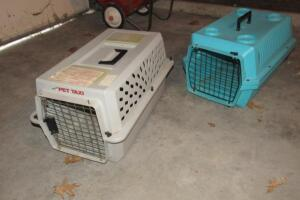 Pair of smaller pet taxis