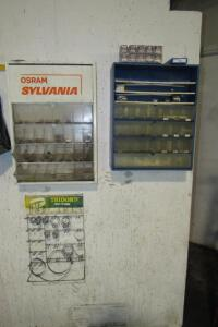 Sylvania and other bulb cabinet and automotive bulbs including 9004, 3157 and others