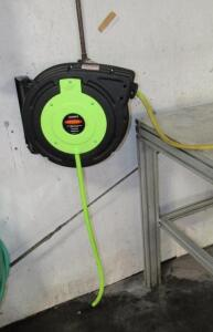 Legacy hose reel with Flexzilla air hose