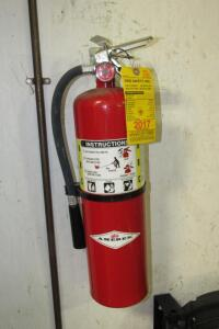 Amerex ABC fire extinguisher