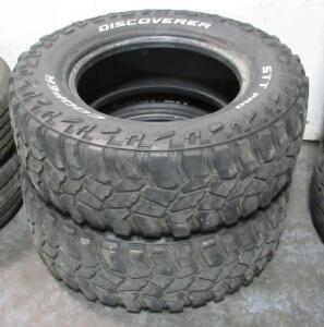 2 Cooper Discoverer used tires