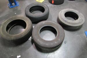 4 tires, like new condition
