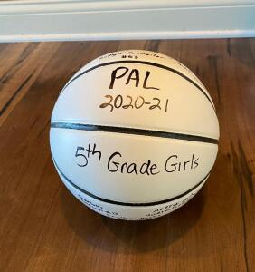 5th Grade PALS Girls Signed Basketball