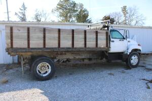 2002 Chevrolet diesel C7500 Truck with stake dump bed