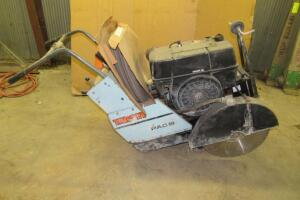 Target PAC III concrete saw