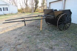 Horse drawn cart, like new