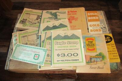 Eagle Stamp and other savings books