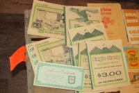 Eagle Stamp and other savings books - 2