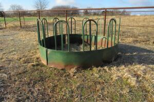 Hay bail ring, shows some rust