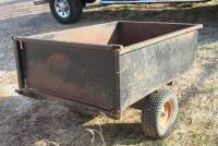Precision Products Big Hog dump cart, shows rust in box - 2