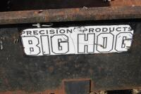 Precision Products Big Hog dump cart, shows rust in box - 3