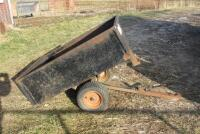 Precision Products Big Hog dump cart, shows rust in box - 7