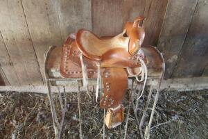 Child's pony saddle