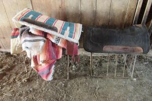 Weaver saddle pad and other misc. saddle pads and blankets