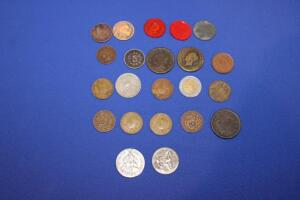 Assorted U.S. and Foreign coins