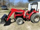 One owner 2008 Mahindra 2816 tractor