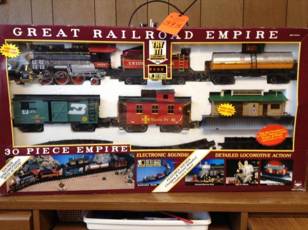 Great Railroad Empire train set - Current price: $70