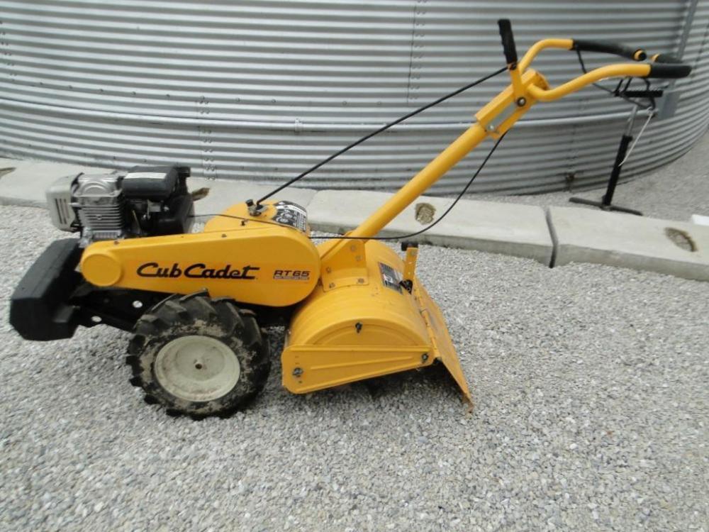Cub Cadet RT65 rear tine tiller - Current price: $550