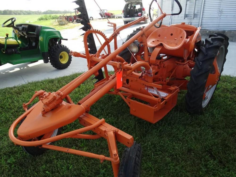 Allis Chalmers Model G sickle bar mower - Current price: $3050