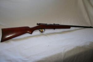 Springfield bolt action 22 single shot rifle