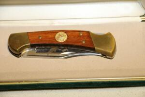 Buck Mod. 112 Duck's Unlimited 50th year knife