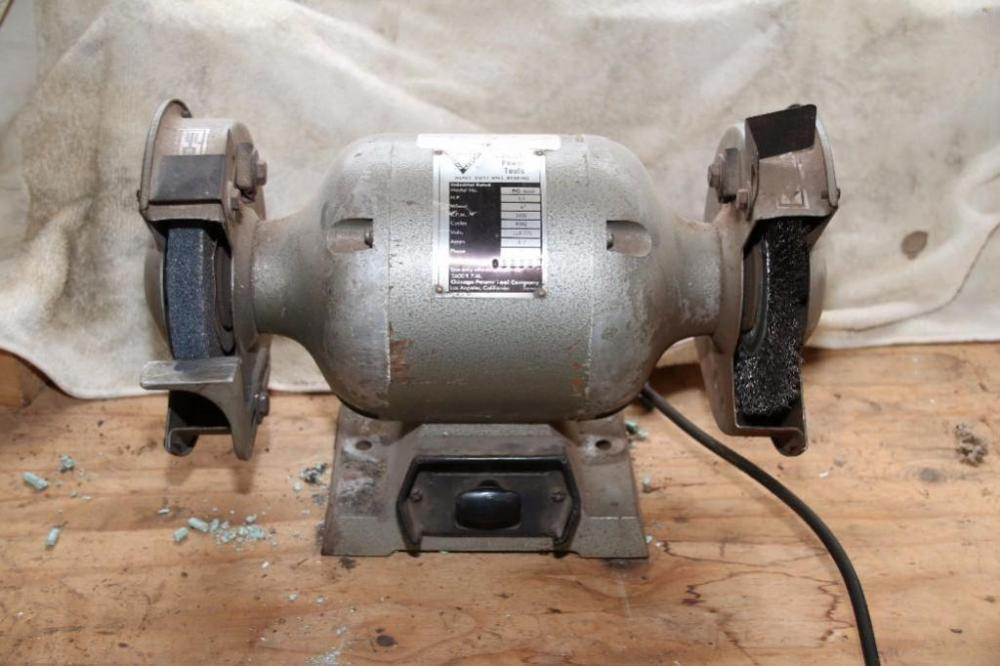 Chicago Power Tools Bench Grinder Current Price 47